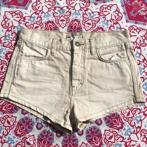 NEVER WORN Free People High-waisted Shorts